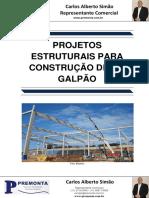 Projetos Estruturais para Construção de um Galpão