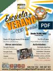 INSCRIPCIÓN ESCUELA VERANO ARUCAS 2016