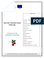 Guide Technique Fraise Bio