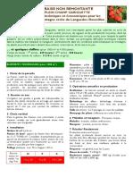Fiche Technico Economique Fraise GARIGUETTE Non Remontante 2012