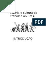 Historia e Cultura Do Trabalho No Brasil