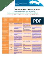 Lista de Periódicos de Educação Do Norte e Nordeste
