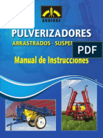 Manual Pulverizadores Suspendidos y Arrastrados