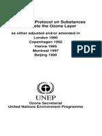 Montreal Protocol2000
