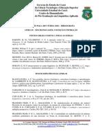 Linha 02 Leitura Seleção Doutorado UECE