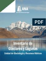 Inventario Glaciares y Lagunas ANA Peru