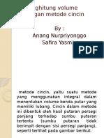 293161096 Menghitung Volume Dengan Metode Cincin