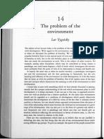 Vygotsky, The Problem of Enviroment