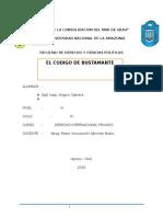 Codigo de Bustamante