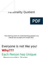 Personality Quotient
