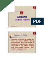ONGC GT-Presentation - Class Notes