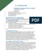 Causas y Consecuencias Del Alcolismo