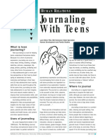 Journaling With Teens
