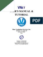 VNet Manual