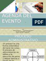 Proceso Admistrativo y Agenda de Evento