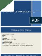 Teoría- Yac. Minerales