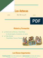 Aztecas Google Slides