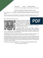 Guía 6 Religion Mitologia Indigena