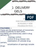 Drug Delivery Gels