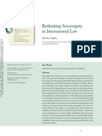 ANGHIE - Rethinking Sovereignity in International Law