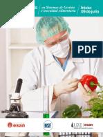 PAE en Sistemas de Gestión e Inocuidad Alimentaria