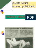 Respuesta Social Al Sexismo Publicitario. Normas y Denuncias