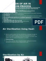 Air STERILISATION