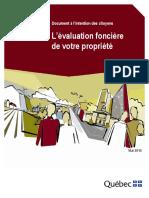 Evaluation Fonciere Propriete