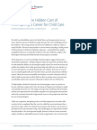Calculating the Hidden Cost of Interrupting a Career for Child Care