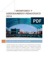 Plan de Monitoreo 2016
