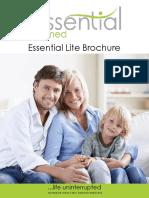 Essential Lite Brochure
