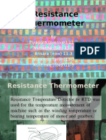 resistance thermometer