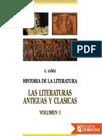 IAÑEZ, Eduardo (1989) Las Literaturas Antiguas y Clásicas