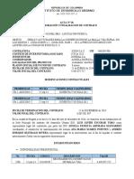 Acta de Finalizacion y Liquidacion Del Contrato
