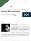 Anurag Kashyap Explains His Stand – on Rape, Feminism, His Short Film and More _ F.i.g.h.t C.l.u