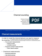Channel Sounding