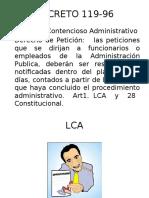 Recursos de Revocatoria y Reposicion.