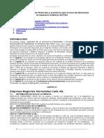 Analisis Situacion Financiera y Economica Toma Decisiones Empresas Hoteleras Peru