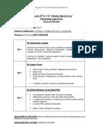 Programa de Historia y F.E.C. de 2ºaño 2016