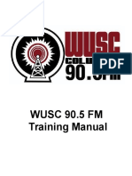 WUSC Training Manual