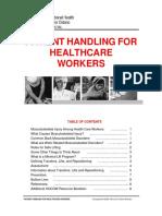 Healthcare Workers Patient Handling