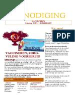 vacci check uitnodiging 9 juli 2016