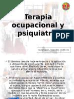 Terapia Ocupacional y Psiquiatrc3ada