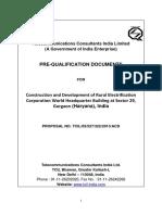 Prequalif Doc Contractor Construction RECHQ