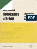 Valter Manošek - Holokaust u Srbiji