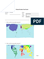 Global Studies Exam