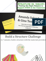 structure vs  inquiry stem expo
