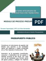 Siaf - Modulo Presupuestal