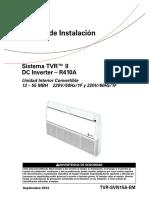 Manual de Instalacion Sistema TVR™ II DC Inverter – R410A