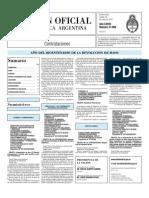 Boletin Oficial 18-05-10 - Tercera Seccion